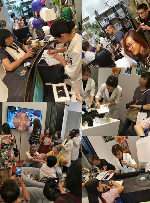 唯美度旗下韩国皮肤管理品牌唯美召香震撼登陆新加坡!