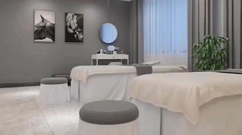 小型美容院现代简约风格是大家一致的选择!